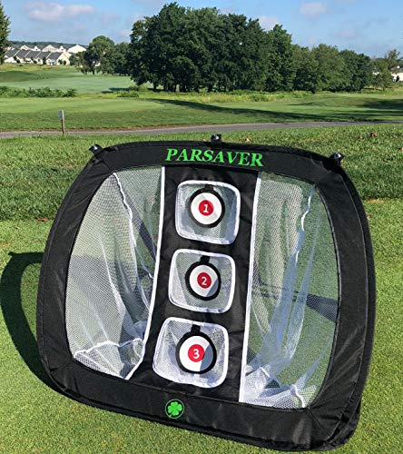 Players Choice - Golf Chipping Net - Practice Net for Men - Women and Golfers - A Must Have Golf Accessories List - Perfect Practice net for Golfers