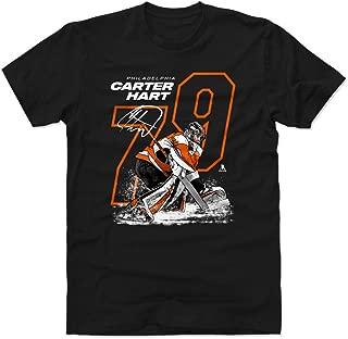 500 LEVEL Carter Hart Shirt - Philadelphia Hockey Men's Apparel - Carter Hart Outline