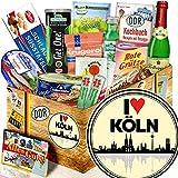 I love Köln / Spezialitäten DDR Geschenkidee / Köln Geschenk für Paare