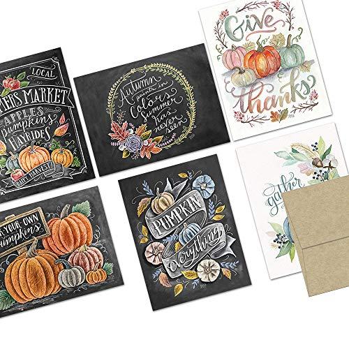 Note Card Cafe Thanksgiving Greetin…