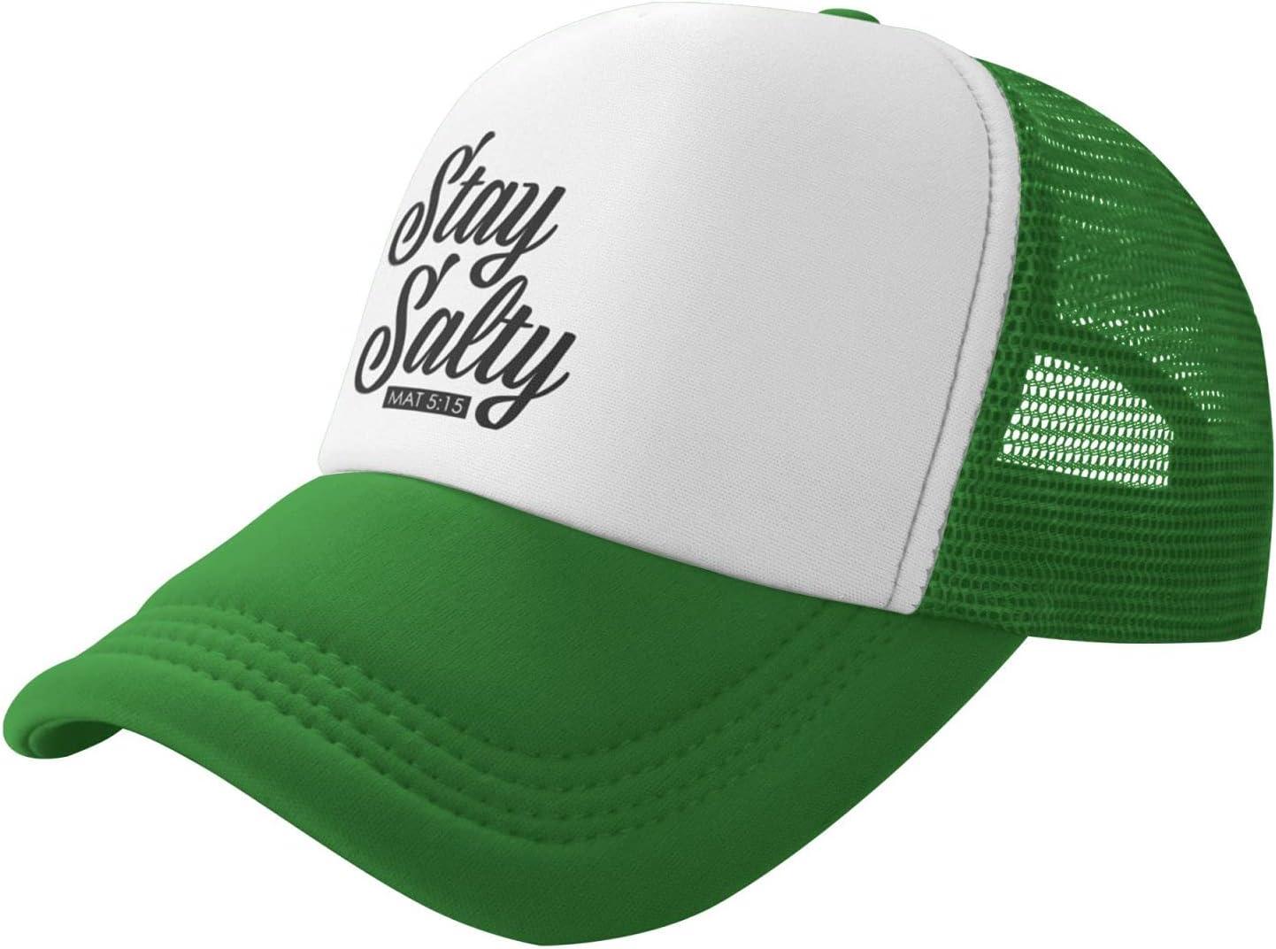 List price Nieah Stay Salty New sales Trucker Baseball Cap hat