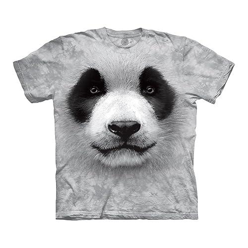 c018cf0b9 The Mountain Adult Unisex T-Shirt - Big Face Panda