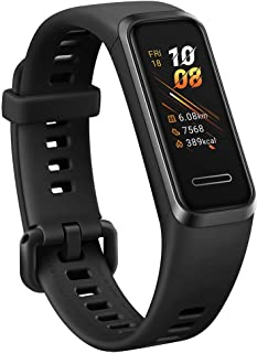 HUAWEI Band 4/グラファイトブラック /活動量計/防水/簡単充電【日本正規代理店品】 BAND 4/BLACK/A