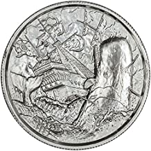 Privateer Series Storm Ultra High Relief 2 oz .999 Silver USA Capsuled BU Round
