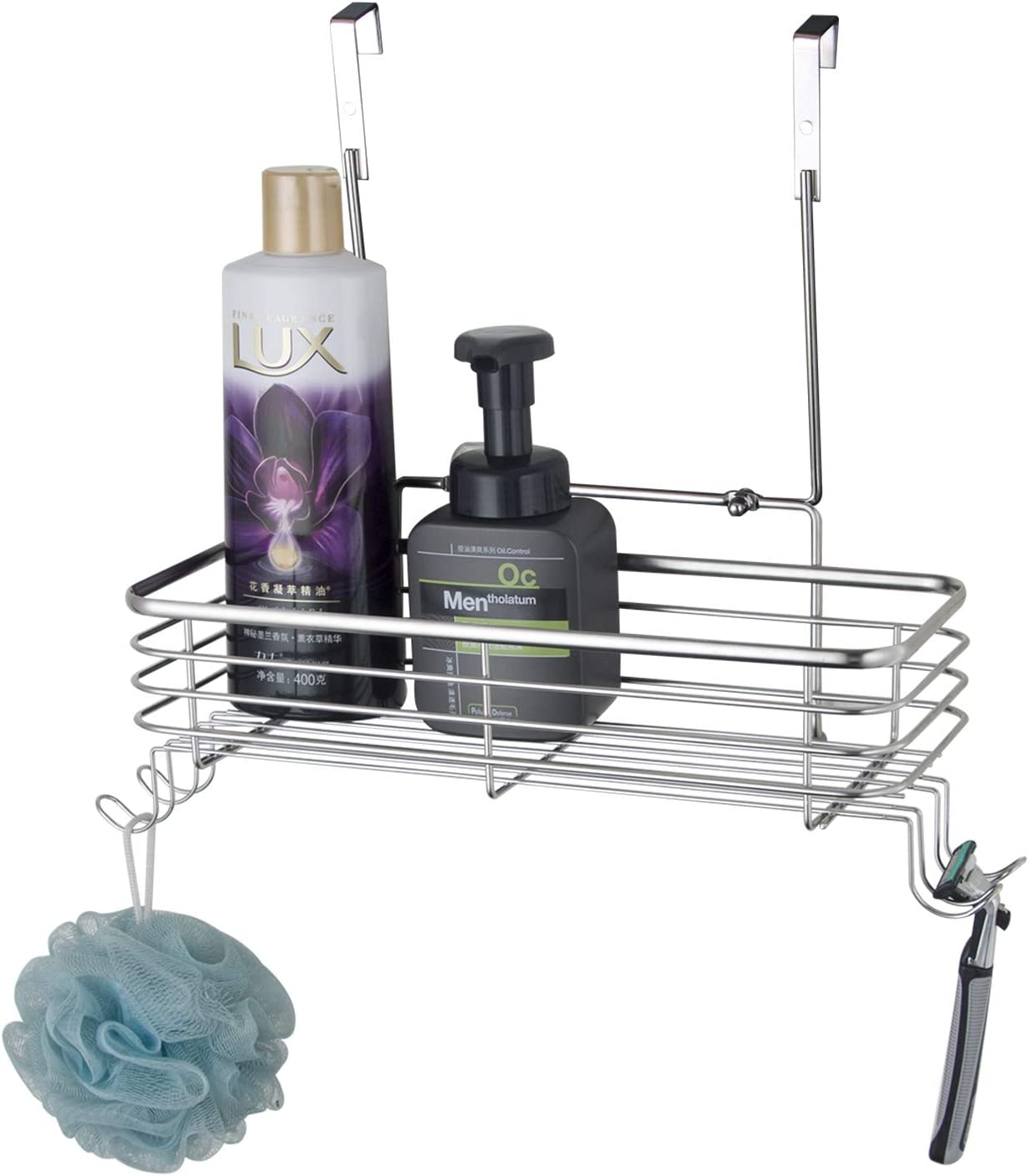LeHeJu Lowest price challenge Hanging Shower Max 49% OFF Caddy Stainless steel S304 Shampoo Cond