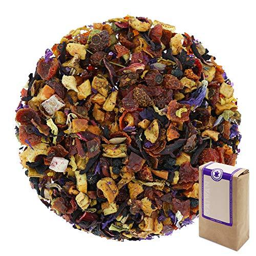 """Núm. 1150: Té de frutas """"Mango y maracuyá"""" - hojas sueltas - 100 g - GAIWAN® GERMANY - manzana, rosa mosqueta, hibisco, piña y papaya, saúco, naranja, girasol y de malva"""