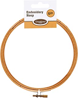 Creations 6-inch Wooden Embroidery Hoop By Creations
