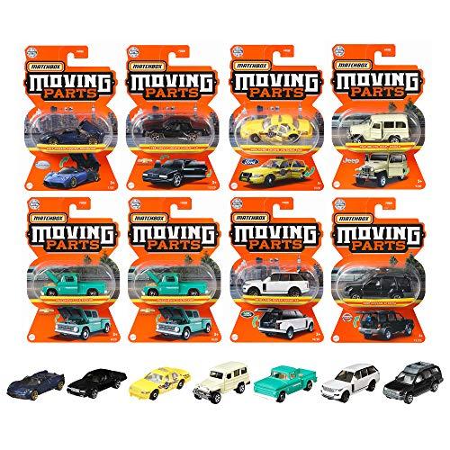 マッチボックス(Matchbox) ムービングパーツ アソート K 【ミニカー8台入り BOX販売】 986K-FWD28