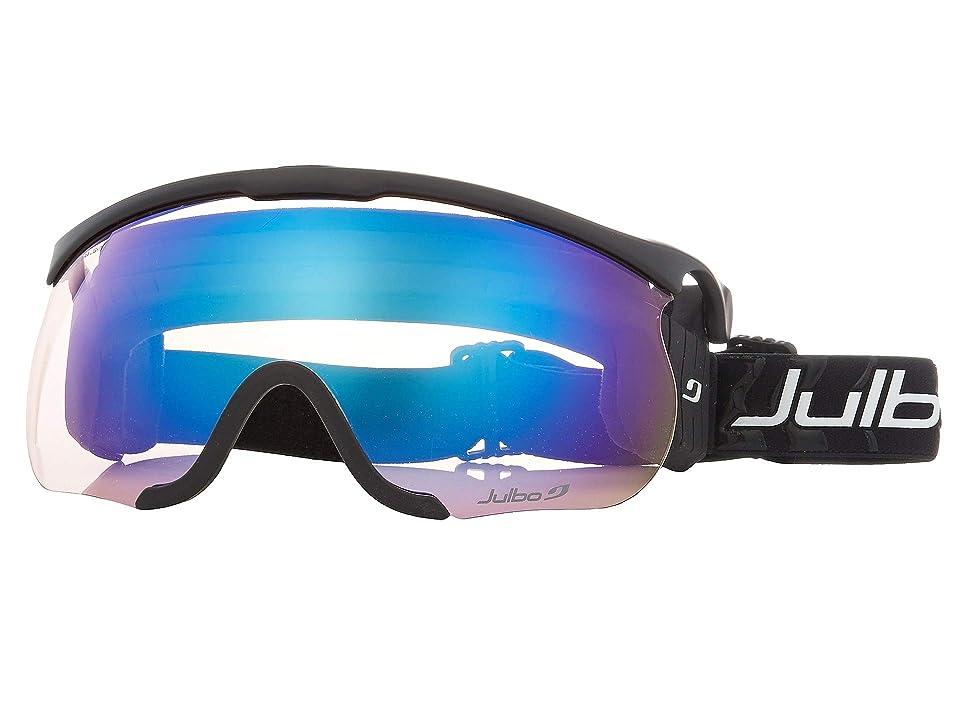 Julbo Eyewear Sniper L (Black/Black with Zebra Light Photochromic Lens) Goggles