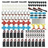 18 Set DC Motors Kit, Mini Electric Hobby...