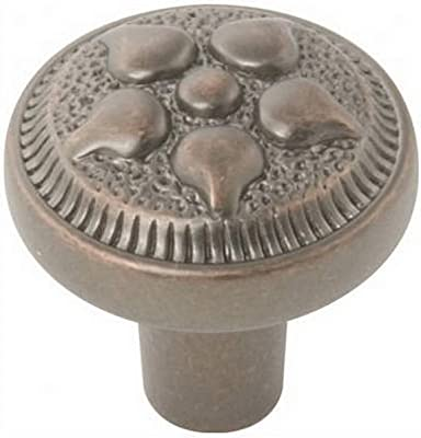 Antique Copper 1-Inch Belwith Products P3025-DAC Cabinet Knob