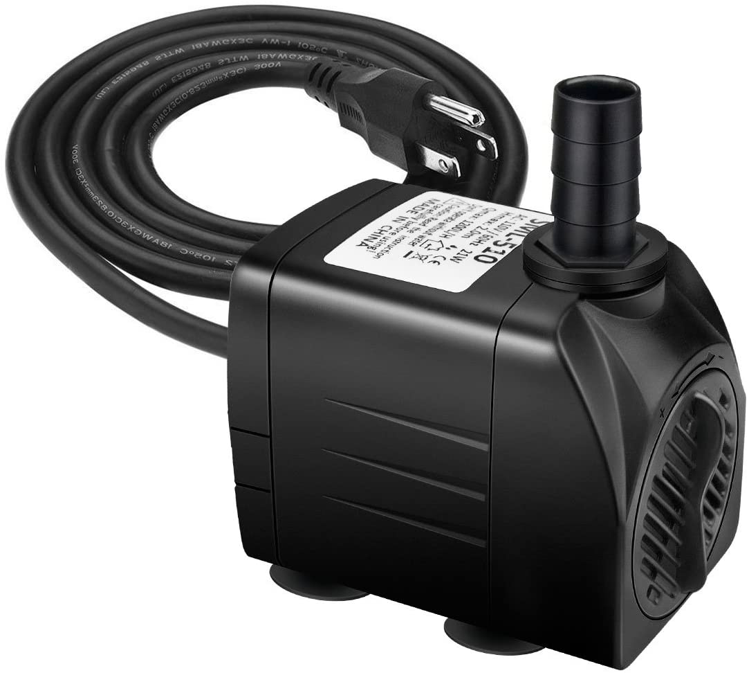 Jhua Fountain Pump 300GPH 1200L Submersible Water Attention Max 44% OFF brand H 21W
