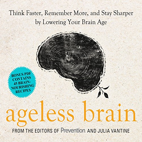 Ageless Brain audiobook cover art