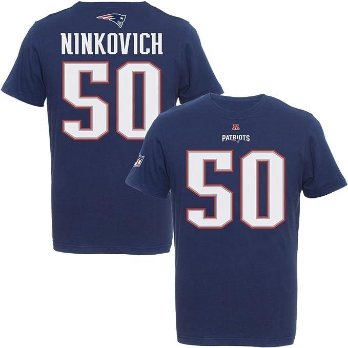 Majestic Nfl Rob Ninkovich 50 New England Patriots Player T Shirt Amazon De Sport Freizeit