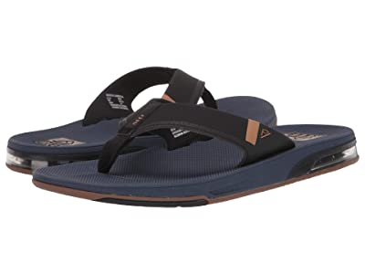 Reef Fanning Low (Navy) Men