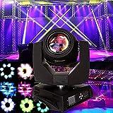 Ridgeyard 230w Moving Head Zoom Light DMX 16CH Beam 8 Prism Wash Spot Gobo Light DJ Disco Club Party Wedding Stage Effect Lighting (1 PCS)
