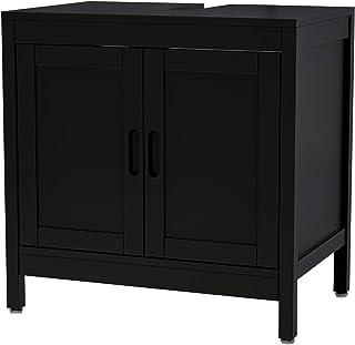 Interbuild MIA sous lavabo | Organisateur 2 Portes | Armoire de Rangement de Cuisine | 60x40x59,5 cm (Anthracite)