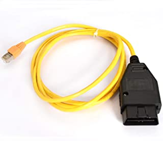 AuraTech ENET ESYS Data Interface Cable OBDII F-Series Coding OBD2 Ethernet RJ45 Cable ENET OBD Cable