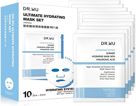 Dr Wu Ultimate Hydrating Mask With Hyaluronic Acid