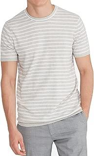 Men's Cotton Cashmere Round Crewneck Short-Sleeved T-Shirt