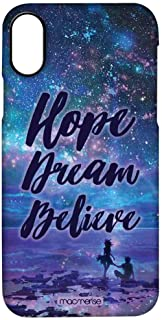 Macmerise IPCIPXPMI0828 Hope Dream Believe - Pro Case for iPhone X - Multicolor (Pack of1)