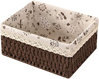 OVsler Boite Rangement Panier Rangement Boite De Rangement Caisse De Rangement Panier De Rangement Cube De Rangement Tissu...