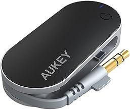AUKEY Bluetooth トランスミッター Bluetooth送信機 ワイヤレス オーディオ トランスミッター 3.5mmステレオミニプラグ接続 Nintendo switch、PS4などに対応 BT-C1
