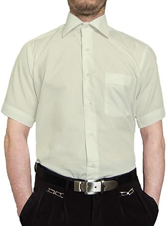 Camisa de manga corta para hombre, varios colores disponibles