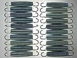 20x Hudora Ersatz Trampolin Federn ca. 138mm von ca. 240 244 305 366 bis 426cm ∅ Ersatzfeder