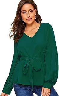 Best womens blouses green Reviews