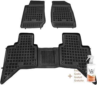 + Limpiador de Plasticos Alfombrillas de Goma Compatible con Renault Duster I facelifting 2013-2018 Regalo