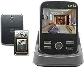 """Surveillance Recorder 2.4Ghz 3.5"""" Digital Door Eye Peephole Wireless Door Viewer Video Doorbell Camera Monitor for Home Ap..."""