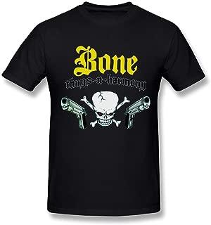 WunoD Men's Bone Thugs-N-Harmony Logo T-Shirt