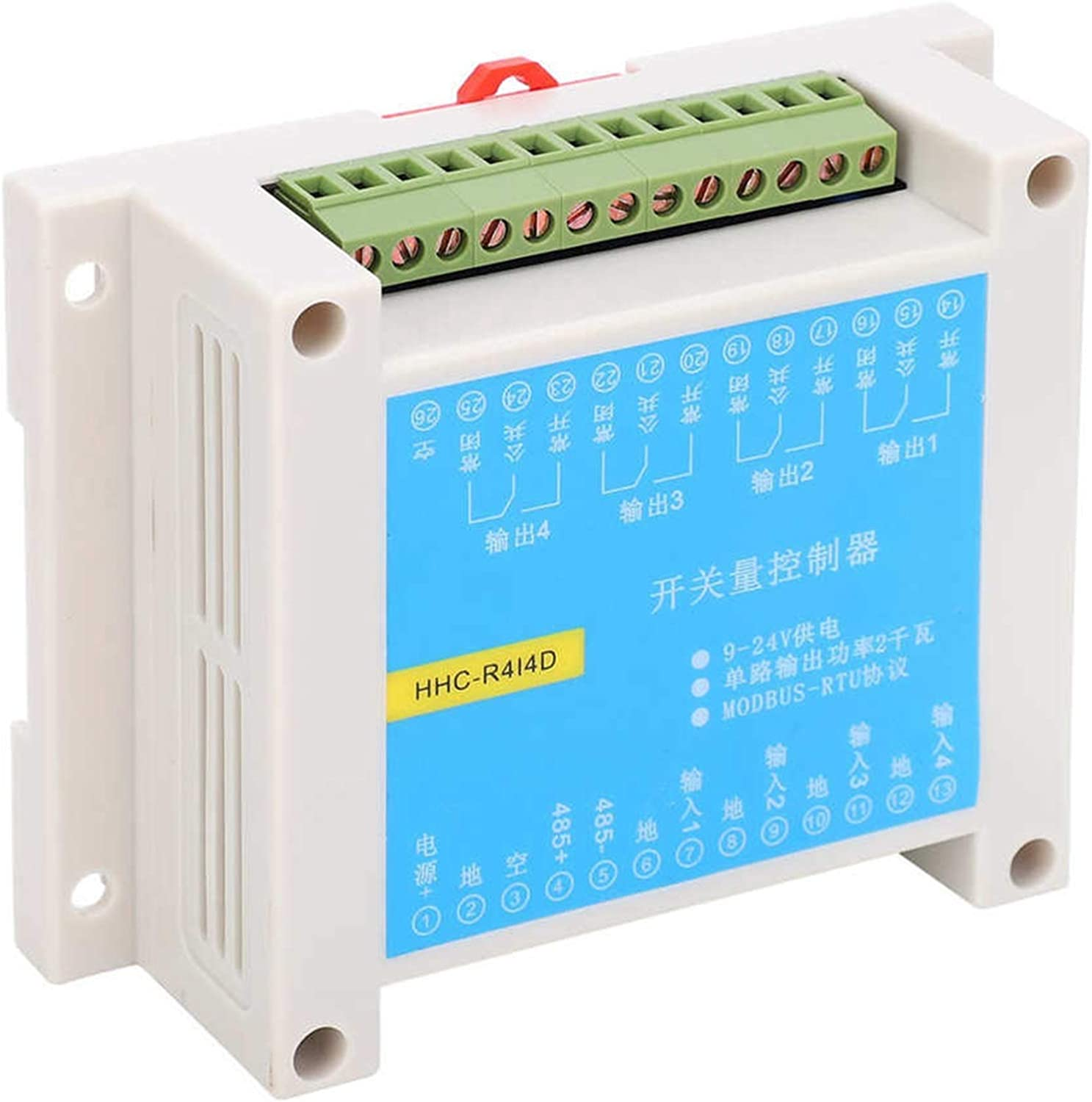 SHENYUAN 1 pc Relay Courier shipping free Max 59% OFF Module R4I4D in 4 Out DMODBUS Protocol RTU