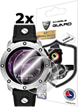 IPG for Diesel On Men´s Axial Smartwatch (DZT2014 / DZT2015 / DZT2016 / DZT2017) Screen Protector (2 Units) Invisible Ultra HD Clear Film Anti Scratch Skin Guard - Smooth/Self-Healing/Bubble -Free