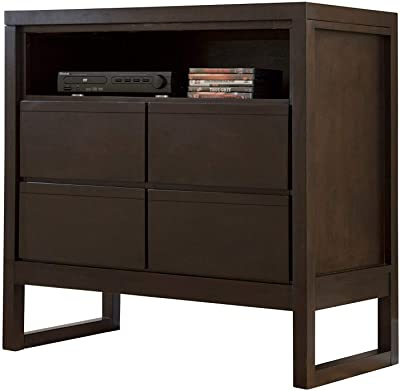 Progressive Furniture Athena Media Chest, Brown