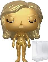 "Funko Pop! Movies: James Bond 007 - Jill Masterson Golden Girl ""Goldfinger"" Vinyl Figure (Bundled with Pop BOX PROTECTOR CASE)"