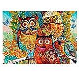 Rompecabezas 520 Piezas Puesta de sol sobre la torre de color Imagen en color de madera de alta calidad pintura al óleo paisaje animales naturaleza decoración familiar arte adultos niños sala de estar