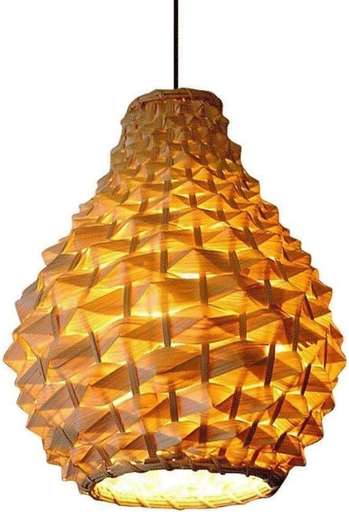Xyjgwdd, lampadario di bambù,a sospensione Llopop-277 1