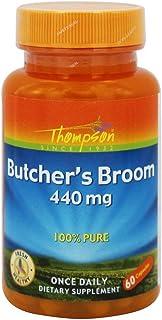 Thompson Butcher's Broom, Veg Cap (Btl-Plastic) 440mg 60ct