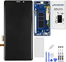 [Ocean Blue Frame] AMOLED Screen Display Touch Digitizer LCD Replacement for Samsung Galaxy Note 9 by SpeedyGadget
