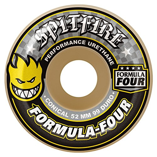 Spitfire CONICAL hot Cut Rad Skateboard-Unisex 52 mm Mehrfarbig