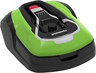 Greenworks Cortacésped - Robot Optimow 10 GRL110 (cortacésped autoprofesional con batería hasta 1000m2 GreenGuide hasta 35...