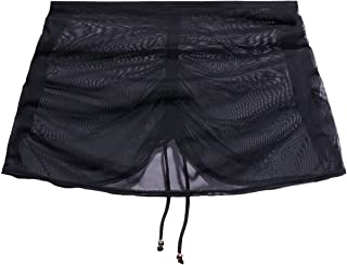 Savage X Fenty, Women's, Gathered Mesh Skirt with Drawstring