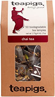 TEAPIGS Chai Tea 175 g Pack of 1, Total 50 Tea Bags