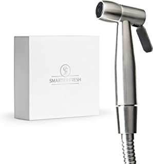SmarterFresh Bidet Sprayer – Superior Splatter-Proof Stainless Steel Diaper Sprayer..