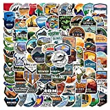 200 PCS National Park Stickers Pack - Yellowstone Outdoor Travel Adventure Western Canyon City State Nature Sticker - Traveling Hiking Camping Decals for Water Bottle Backpack