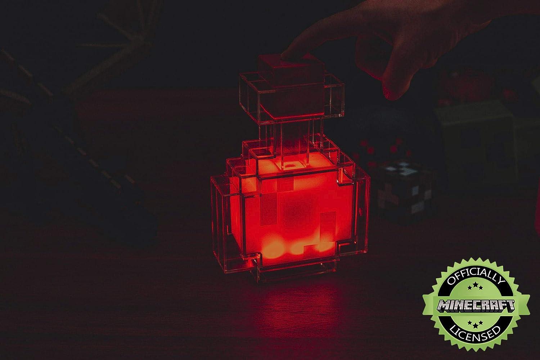 Minecraft Potion Bottle Light Color-Changing LED Lamp | 7 Inch Multicolor