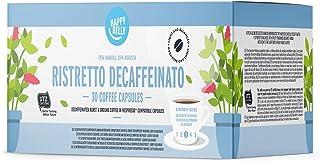 comprar comparacion Marca Amazon - Happy Belly Ristretto Decaffeinato- Café UTZ molido de tueste natural descafeinado en cápsulas (compostable...