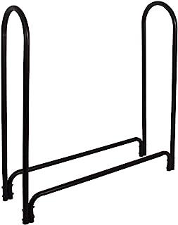 Panacea 15203 Deluxe Outdoor Log Rack, Black, 4-Feet, Log Rack Only